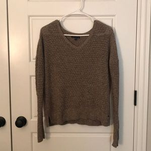 Brown American Eagle sweater S